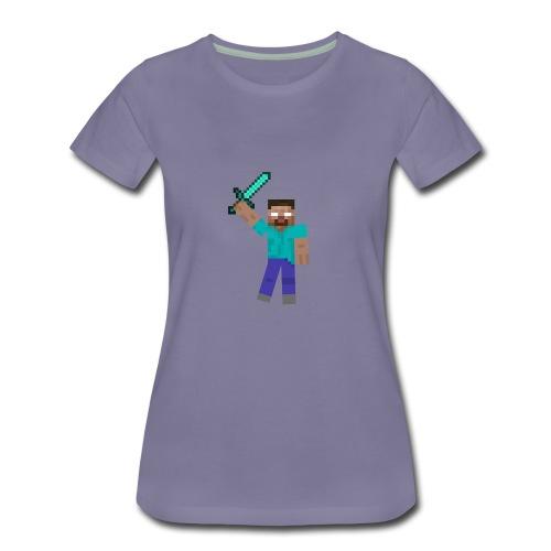 Herobrine Anniversary - Women's Premium T-Shirt