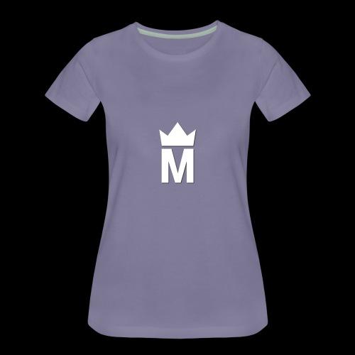 White Majesty Logo - Women's Premium T-Shirt