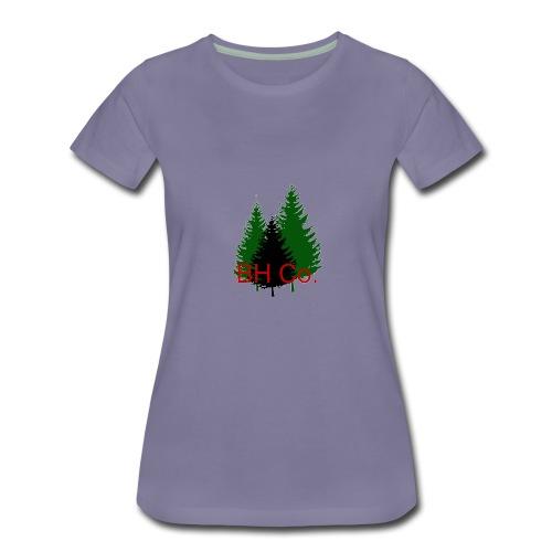 EVERGREEN LOGO - Women's Premium T-Shirt