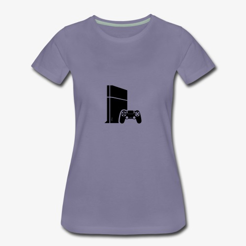 Logo PS4 - Women's Premium T-Shirt