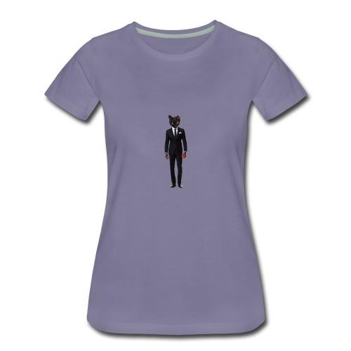 Purrrty Kool - Women's Premium T-Shirt