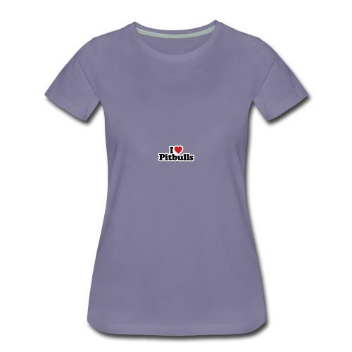 this i love pitbulls iphone cases - Women's Premium T-Shirt