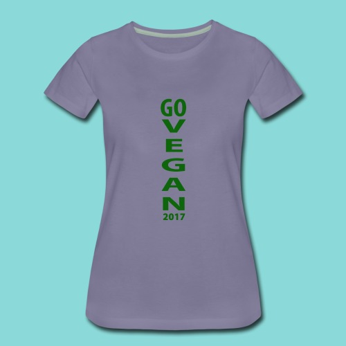 Go_Vegan_2017 - Women's Premium T-Shirt