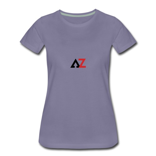 AZ Management logo - Women's Premium T-Shirt