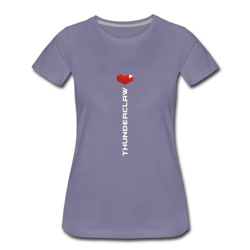 ThunderClaw YouTube Gaming - Women's Premium T-Shirt