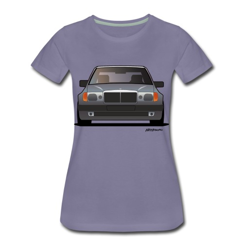 MB w124 500E - Women's Premium T-Shirt
