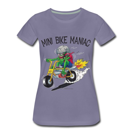 Original Mini Bike Maniac black letters - Women's Premium T-Shirt
