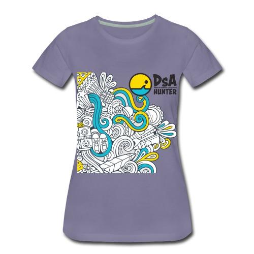 DSA Hunter - Funky Design - Women's Premium T-Shirt