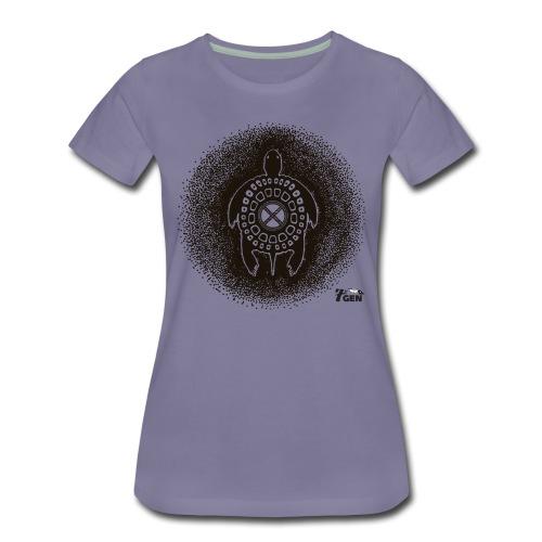 Turtle Teaching - Women's Premium T-Shirt