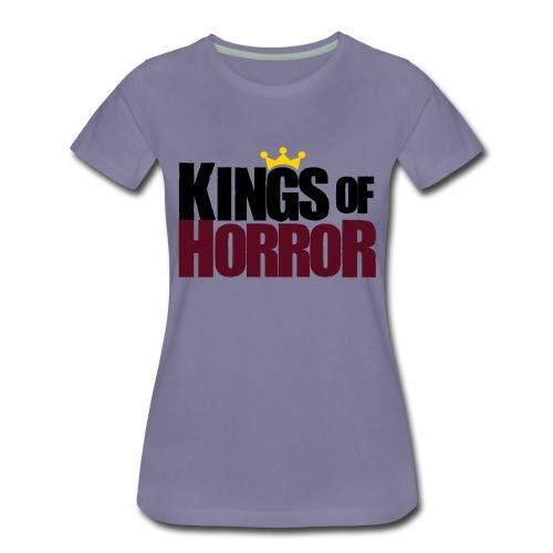 Kings of Horror Logo - Women's Premium T-Shirt