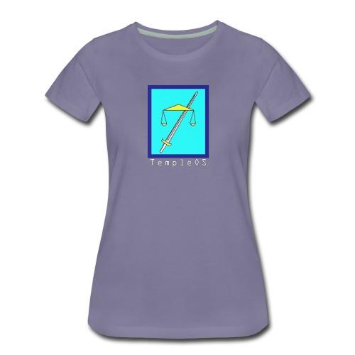 TempleOS temple - Women's Premium T-Shirt