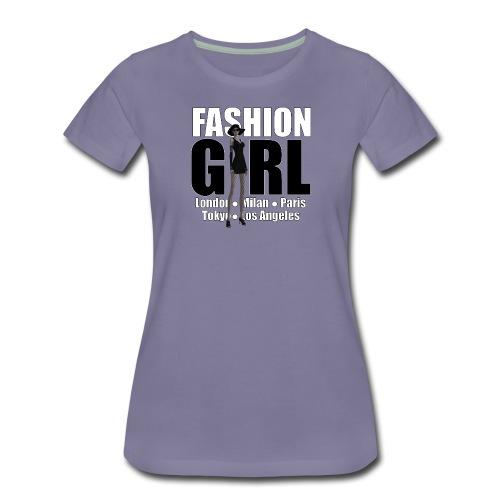 The Fashionable Woman - Fashion Girl - Women's Premium T-Shirt