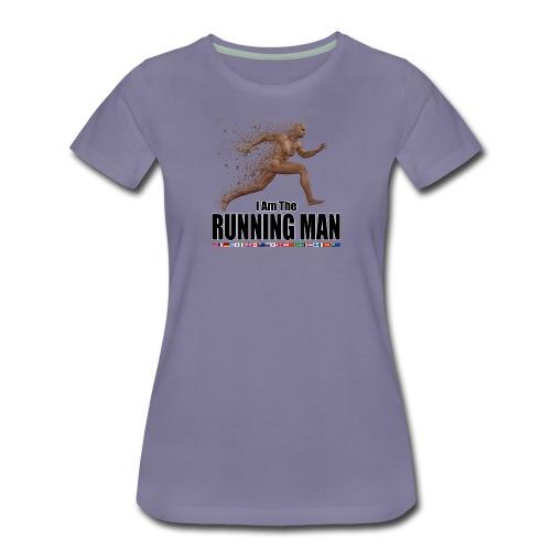 I am the Running Man - Cool Sportswear - Women's Premium T-Shirt