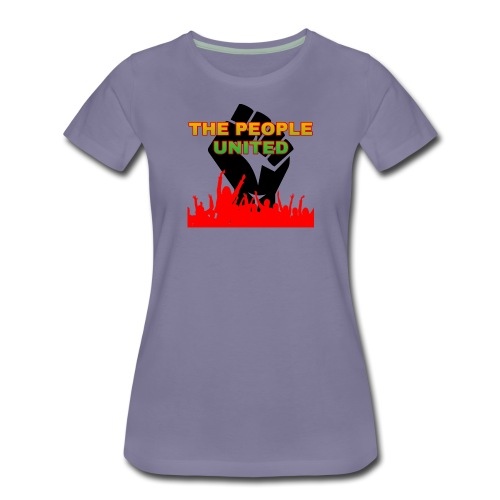 The People United - Women's Premium T-Shirt