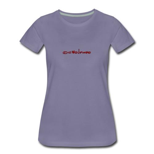 Sign1News in written ASL (Exclusive Design) - Women's Premium T-Shirt