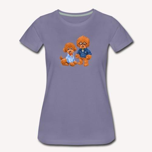 Agador and Fred - Women's Premium T-Shirt