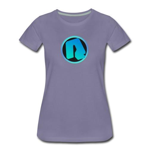 Channel Logo - qppqrently Main Merch - Women's Premium T-Shirt