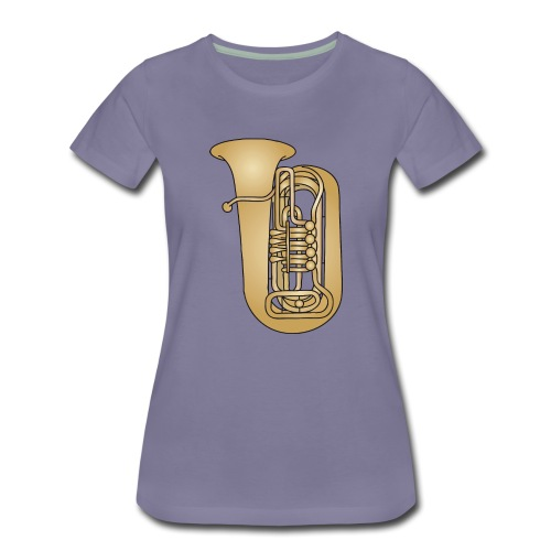 Tuba brass - Women's Premium T-Shirt