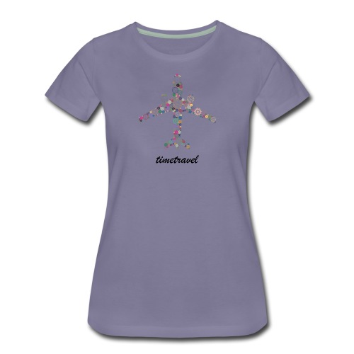 Time To Travel - Women's Premium T-Shirt
