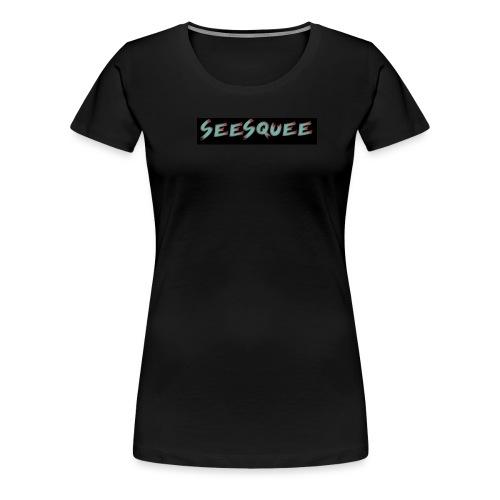 Seesquee Talks orig - Women's Premium T-Shirt