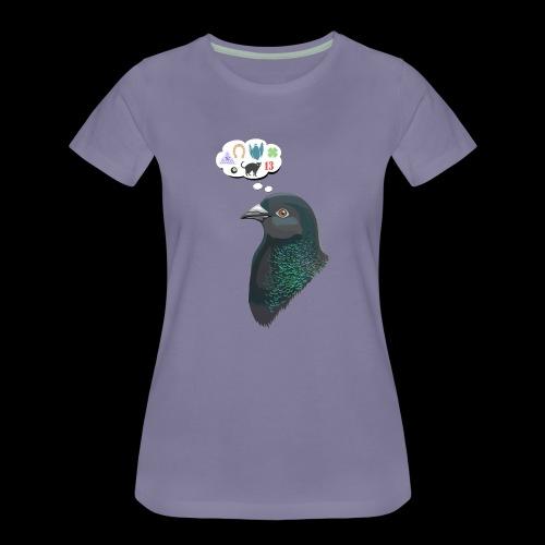 Skinner's Pigeon - Women's Premium T-Shirt