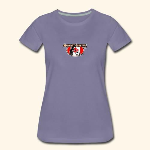 Muskrat Badge 2020 - Women's Premium T-Shirt