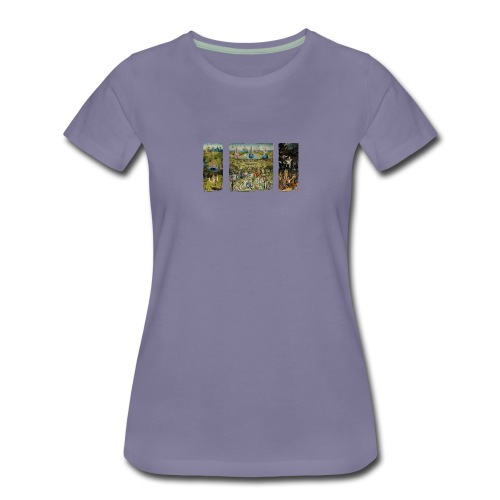 Garden Of Earthly Delights - Women's Premium T-Shirt