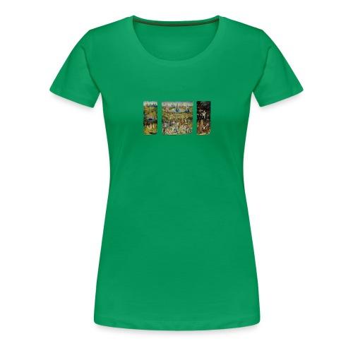 Garden Of Earthly Delights - Women's Premium T-Shirt