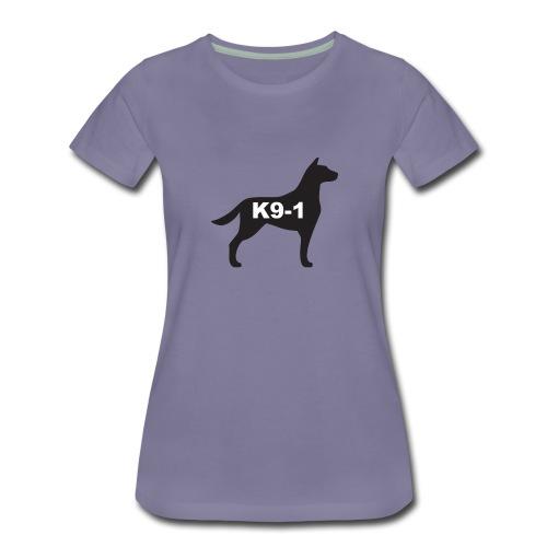 K9-1 logo - Women's Premium T-Shirt