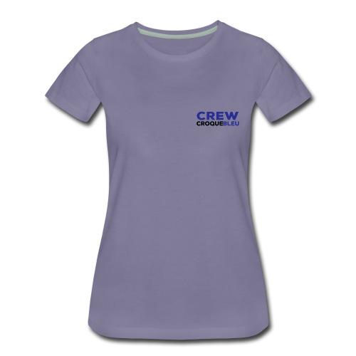 CREW Shirt Front small - Women's Premium T-Shirt