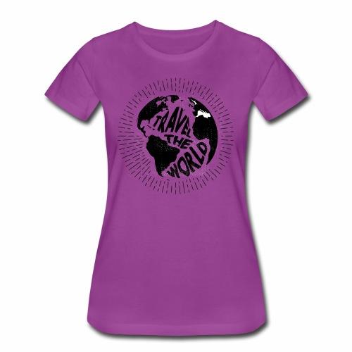 Travel the world - Women's Premium T-Shirt