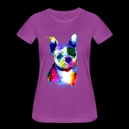 French Bulldog I colorful dog - Women's Premium T-Shirt