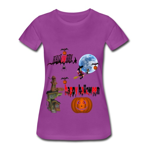 Happy Halloween and celebrate the occasion - Women's Premium T-Shirt