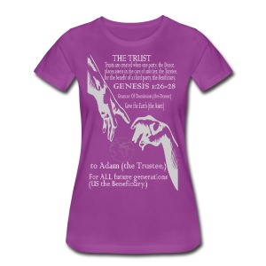 The Trust of Truth! - Women's Premium T-Shirt