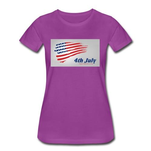 USA Independence Day 2 - Women's Premium T-Shirt