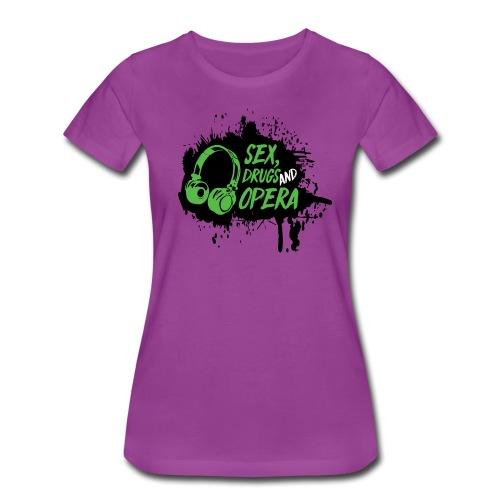 SDAO Alternative Logo - Women's Premium T-Shirt
