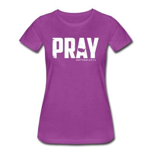 Pray For America 2017 - Women's Premium T-Shirt