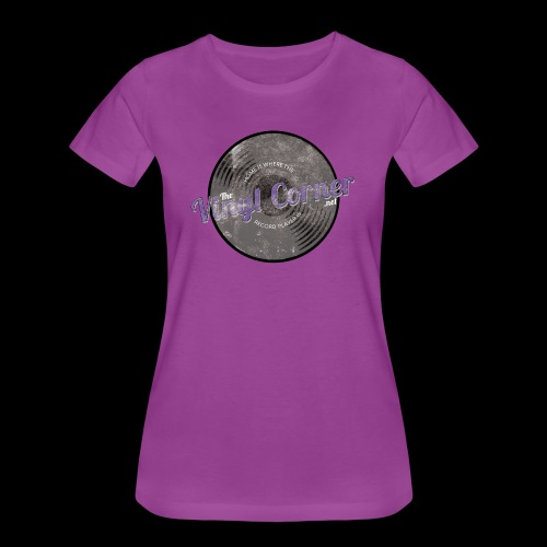 The Vinyl Corner - Deep purple - Women's Premium T-Shirt