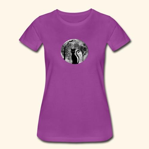 moon cat - Women's Premium T-Shirt
