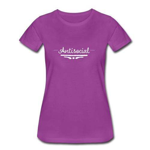 -Antisocial- - Women's Premium T-Shirt