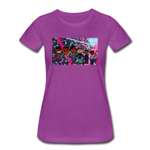 J squad rock merch - Women's Premium T-Shirt