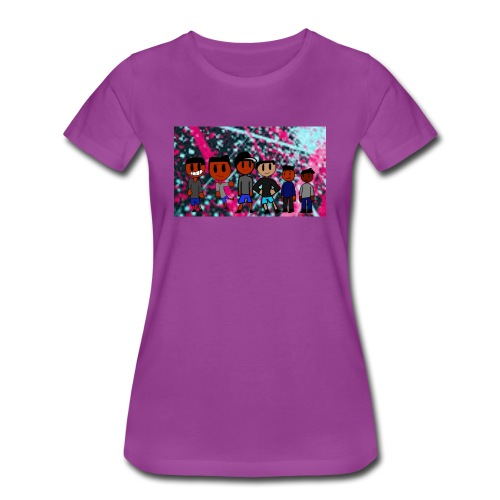 J squad rock merch - Women's Premium T-Shirt