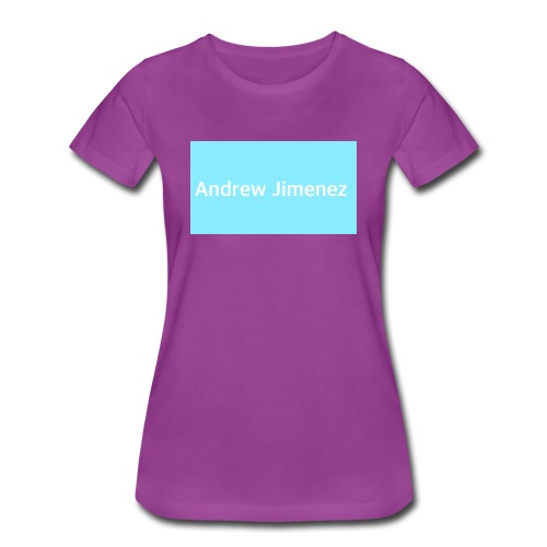 I'm Andrew and I love to sing and do diy - Women's Premium T-Shirt