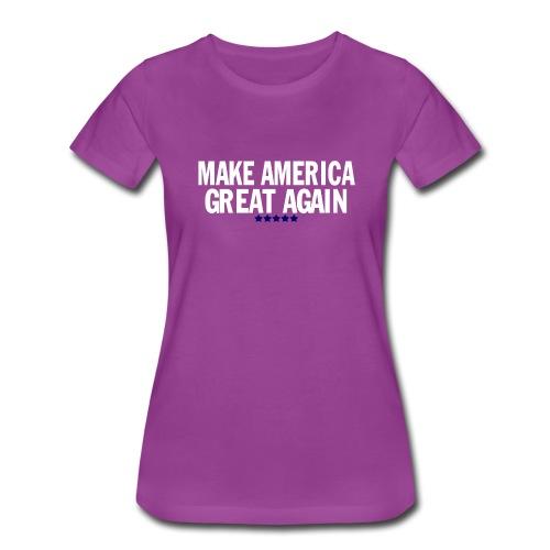 MAGA - Women's Premium T-Shirt
