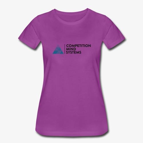 CMS Blue logo - Women's Premium T-Shirt