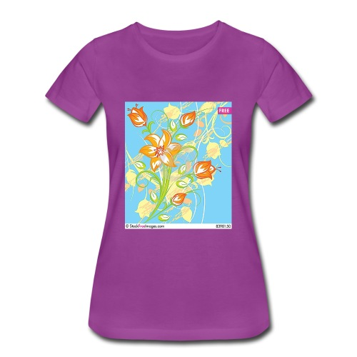 flowers67 - Women's Premium T-Shirt