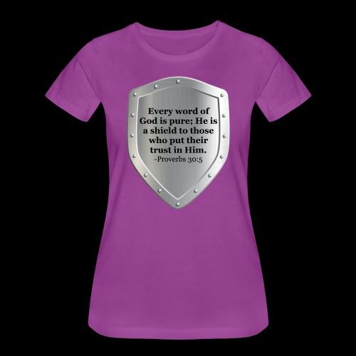 Proverbs 30:5 - Women's Premium T-Shirt