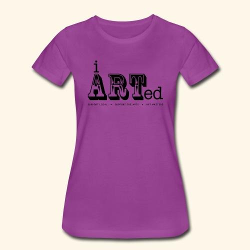 i arted (carnival theme) - Women's Premium T-Shirt