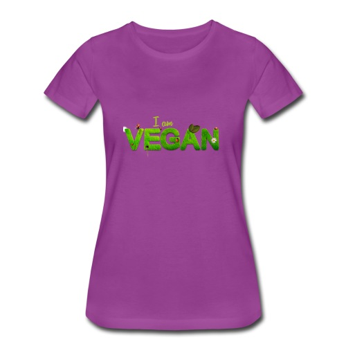 I am Vegan - Women's Premium T-Shirt