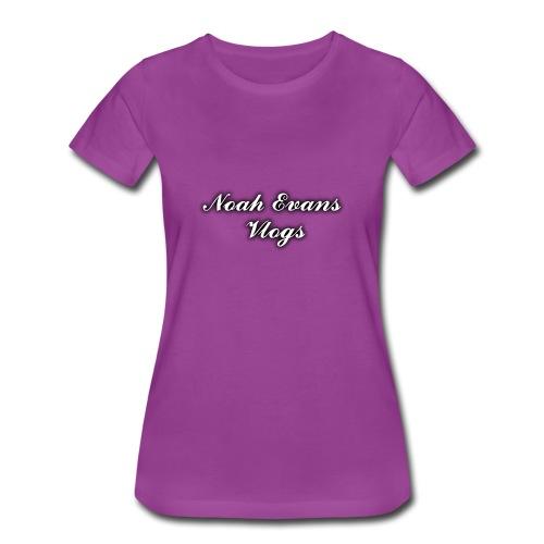 Noah Evans Vlogs - Women's Premium T-Shirt
